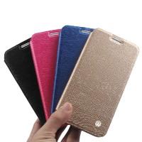 Текстурный чехол флип подставка на силиконовой основе для Samsung Galaxy A7 (2016)
