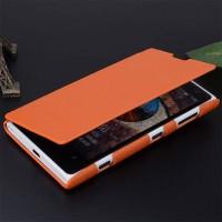 Кожаный чехол горизонтальная книжка для Nokia Lumia 1020
