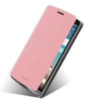 Чехол флип подставка водоотталкивающий для LG G3 (Dual-LTE) Розовый