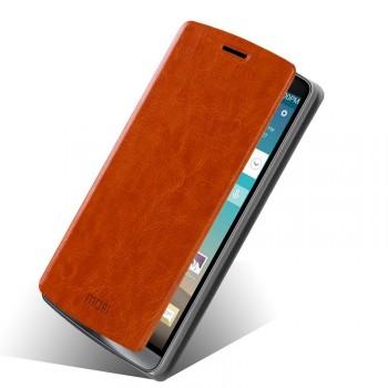 Чехол флип подставка водоотталкивающий для LG G3 (Dual-LTE)