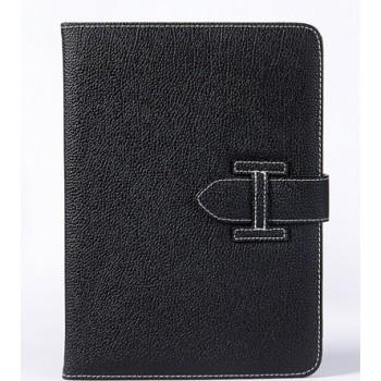 Чехол книжка подставка с рамочной защитой экрана с отделениями для карт и поддержкой кисти для Samsung Galaxy Tab S2 9.7