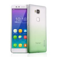 Пластиковый градиентный полупрозрачный чехол для Huawei Honor 5X
