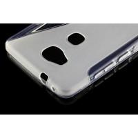 Силиконовый S чехол для Huawei Honor 5X Серый