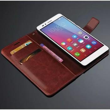 Глянцевый чехол портмоне подставка с защелкой для Huawei Honor 5X