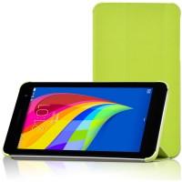 Чехол флип подставка сегментарный для Huawei MediaPad T1 7.0 Зеленый