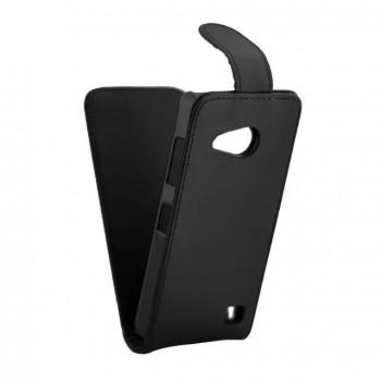 Чехол вертикальная книжка на пластиковой основе с магнитной застежкой для Microsoft Lumia 550