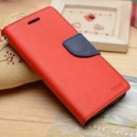 Текстурный чехол портмоне подставка на силиконовой основе с дизайнерской застежкой для ASUS Zenfone Go Красный