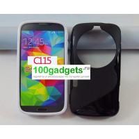 Силиконовый чехол S для Samsung Galaxy K Zoom Черный
