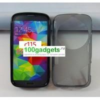 Силиконовый чехол S для Samsung Galaxy K Zoom Серый