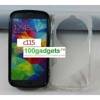 Силиконовый чехол S для Samsung Galaxy K Zoom Белый