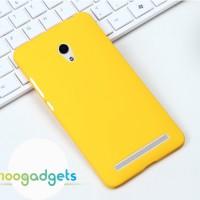 Пластиковый чехол для ASUS Zenfone 6 Желтый