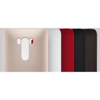 Пластиковый матовый нескользящий премиум чехол для ASUS Zenfone Selfie