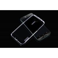 Силиконовый матовый полупрозрачный чехол повышенной прочности для ASUS Zenfone Selfie Белый