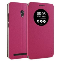 Чехол флип-подставка с окном вызова для ASUS Zenfone 6 Пурпурный