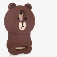 Силиконовый дизайнерский фигурный чехол для Xiaomi RedMi Note 3