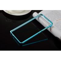 Металлический бампер для Xiaomi RedMi Note 3 Голубой
