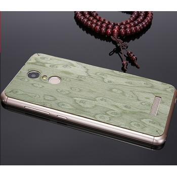 Клеевая натуральная деревянная накладка для Xiaomi RedMi Note 3