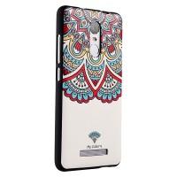 Силиконовый матовый дизайнерский чехол с эксклюзивной серией принтов для Xiaomi RedMi Note 3