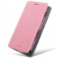 Водоотталкивающий чехол флип для ASUS Zenfone 6 Розовый