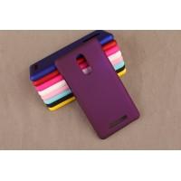 Пластиковый матовый непрозрачный чехол для Xiaomi RedMi Note 3 Фиолетовый