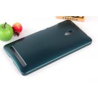 Пластиковый чехол серия Metallic для ASUS Zenfone 6 Зеленый