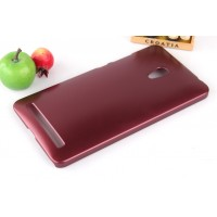 Пластиковый чехол серия Metallic для ASUS Zenfone 6 Красный