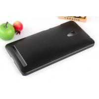 Пластиковый чехол серия Metallic для ASUS Zenfone 6 Черный