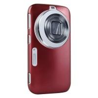 Пластиковый чехол серия Metallic Layer для Samsung Galaxy K Zoom Красный