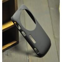 Пластиковый анти-скртеч чехол для Samsung Galaxy K Zoom Черный
