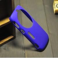 Пластиковый анти-скртеч чехол для Samsung Galaxy K Zoom Синий