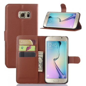 Чехол портмоне подставка с защелкой для Samsung Galaxy S6 Edge Plus