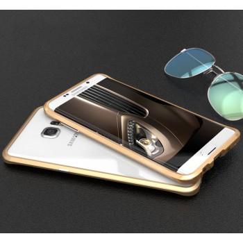 Металлический бампер сборного типа с подставкой для Samsung Galaxy S6 Edge Plus
