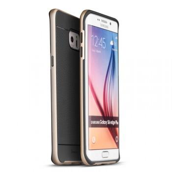 Гибридный чехол накладка силикон/поликарбонат для Samsung Galaxy S6 Edge Plus