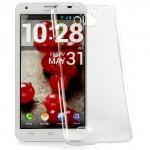 Пластиковый транспарентный чехол для Huawei Honor 3x