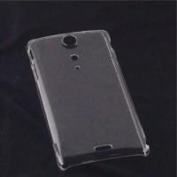 Пластиковый транспарентный чехол для Sony Xperia TX
