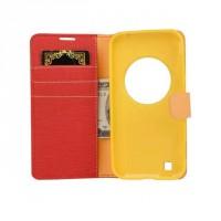 Текстурный чехол портмоне подставка на силиконовой основе с защелкой для Asus Zenfone Zoom