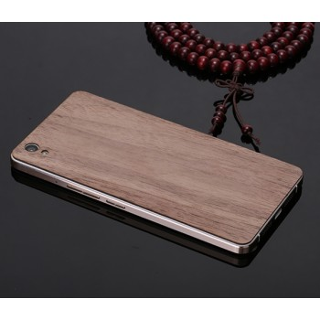 Клеевая натуральная деревянная накладка для OnePlus X