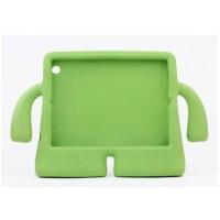 Детский ультразащитный гиппоаллергенный силиконовый фигурный чехол для планшета Ipad 2/3/4 Зеленый