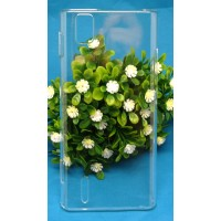 Прозрачный пластиковый чехол для Huawei Ascend P2