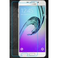 Ультратонкое износоустойчивое сколостойкое олеофобное защитное стекло-пленка для Samsung Galaxy A5 (2016)