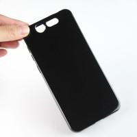 Силиконовый матовый полупрозрачный чехол для ZTE Blade S7 Черный