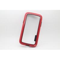 Силиконовый бампер для Samsung Galaxy Core Красный