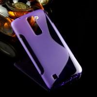 Силиконовый S чехол для LG K7 Фиолетовый