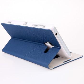 Чехол флип-подставка с отделениями для Sony Xperia ZL