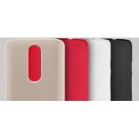 Пластиковый матовый нескользящий премиум чехол для Lenovo Moto X Force