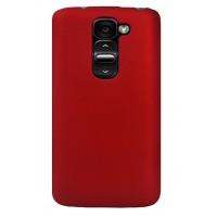 Пластиковый чехол для LG Optimus G2 mini Красный