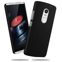 Пластиковый матовый непрозрачный чехол для Lenovo Vibe X3 Черный