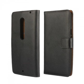 Чехол портмоне подставка с защелкой для Lenovo Moto X Style