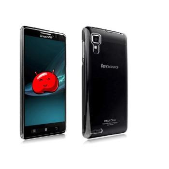 Пластиковый транспарентный олеофобный премиум чехол для Lenovo P780 Ideaphone