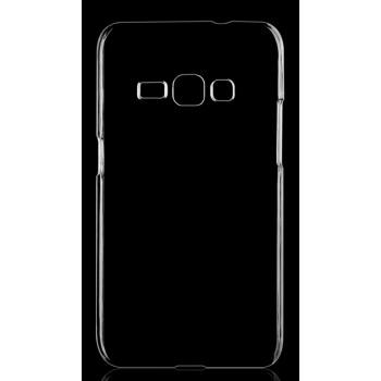 Пластиковый транспарентный чехол для Samsung Galaxy J1 (2016)